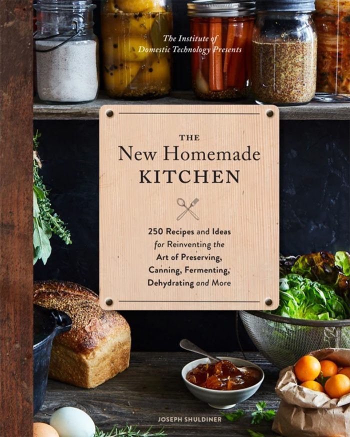 Book cover of The New Homemade Kitchen